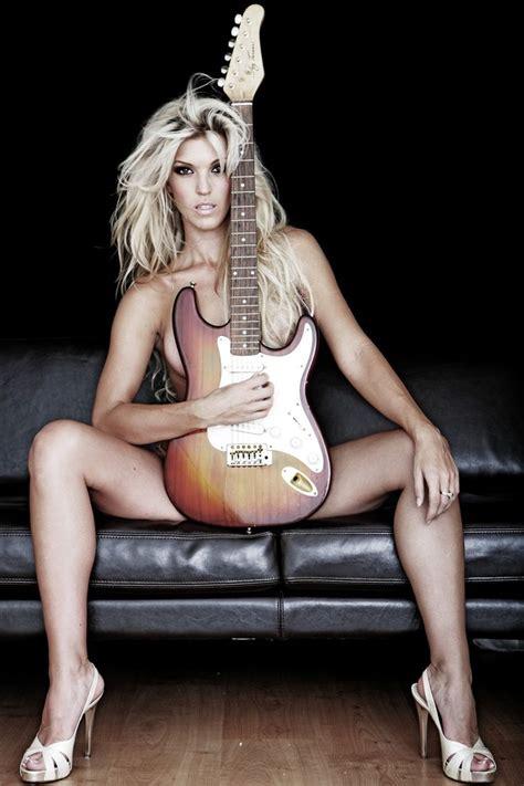 guitar gils sexy models jpg 736x1104